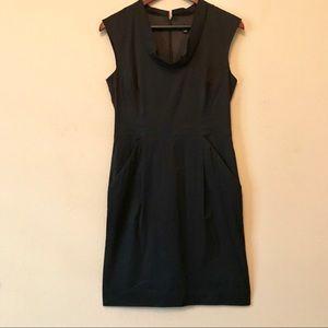 ANN TAYLOR Black Shift Dress